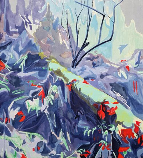 Kyle Scheurmann, landscape painting, canada, contemporary art, MFA, Elissa Cristall Gallery