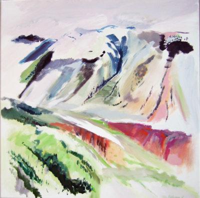 Lesley Finlayson, landscape, contemporary art, west coast, art exhibitions, Vancouver, Elissa Cristall Gallery