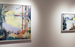 Lesley Finlayson, landscape, contemporary art, Glasgow School of Art, west coast, art exhibitions, Vancouver, Elissa Cristall Gallery