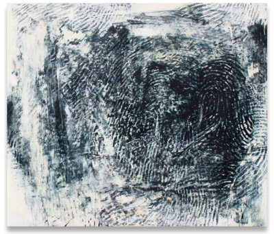Randall Steeves, First Fact, encaustic, contemporary painting, Elissa Cristall Gallery