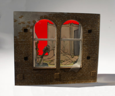 Jessica Korderas, cast resin sculpture, contemporary art, Vancouver, Elissa Cristall Gallery