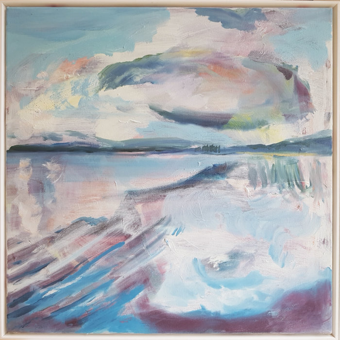 Lesley Finlayson, landscape painting, contemporary art, art consultant, Vancouver, art gallery, Elissa Cristall Gallery