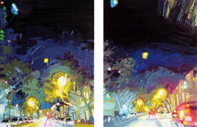 Mara-Korkola-NP413-landscape-city-painting-contemporary-art-gallery-vancouver-Elissa-Cristall-Gallery