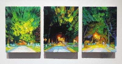 Mara-Korkola-NP423-landscape-city-painting-contemporary-art-gallery-vancouver-Elissa-Cristall-Gallery