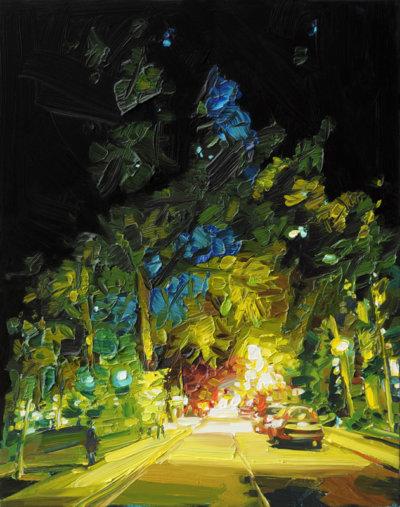 Mara-Korkola-NP428-landscape-city-painting-contemporary-art-gallery-vancouver-Elissa-Cristall-Gallery