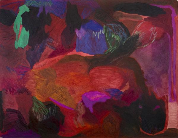 Megan Hepburn, Therapist, abstract painting, contemporary art, matisse, plaskett award winner, Elissa Cristall Gallery