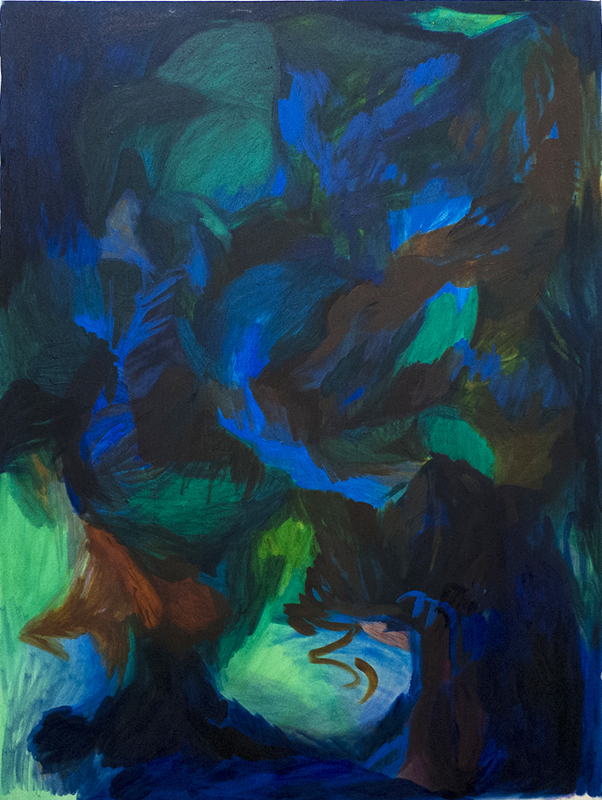 Megan Hepburn, Brussels Failling, oil painting, abstraction, modern art, Elissa Cristall Gallery, Vancouver, Canada