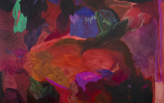 Megan Hepburn, Therapist, abstract painting, Elissa Cristall Gallery, Vancouver, Canada