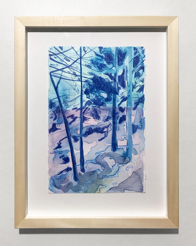 Kyle Scheurmann, watercolour, contemporary art, Vancouver, Elissa Cristall Gallery