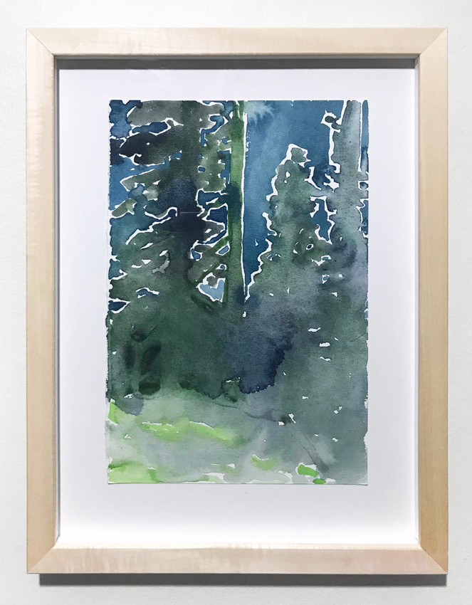 Kyle Scheurmann, watercolour, contemporary art, Vancouver, Elissa Cristall Gallery
