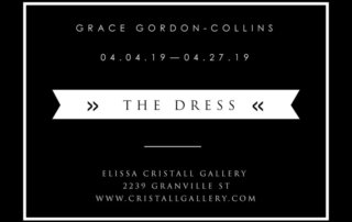Grace Gordon-Collins, The Dress, photography, contemporary art, Vancouver, Elissa Cristall Gallery