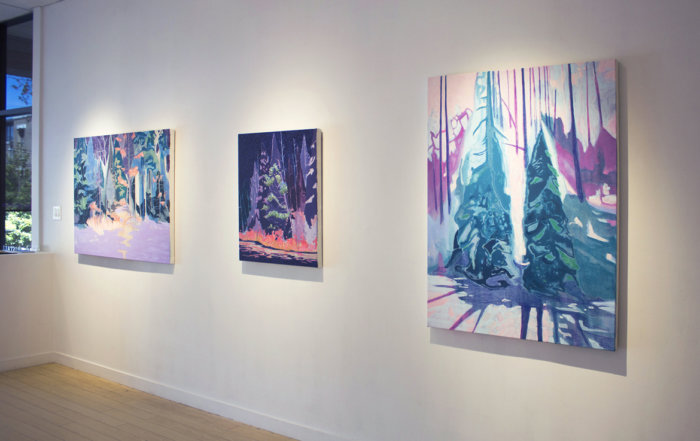 Kyle Scheurmann, landscape paintings of northern Canada, Elissa Cristall Gallery