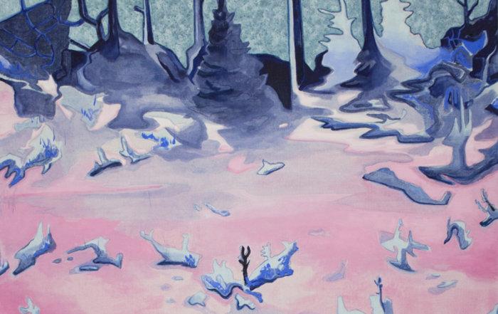 Kyle Scheurmann, landscape painting, Canadian artist, contemporary art gallery, Elissa Cristall Gallery