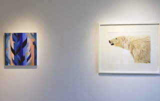 Art exhibition, painting, watercolor, Vancouver art galleries, Elissa Cristall Gallery