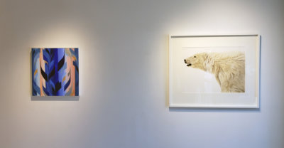 Art Gallery exhibition, contemporary art, painting, watercolor, Vancouver art galleries, Elissa Cristall Gallery