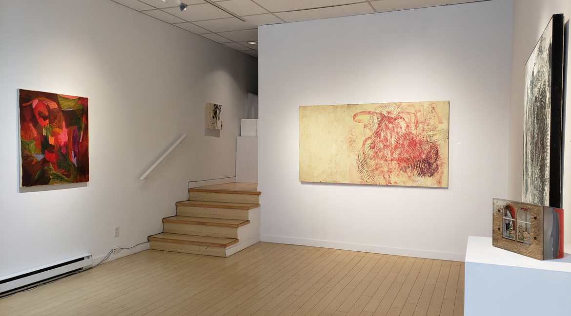 Art Exhibition, abstract painting, contemporary art, Vancouver galleries, Elissa Cristall Gallery