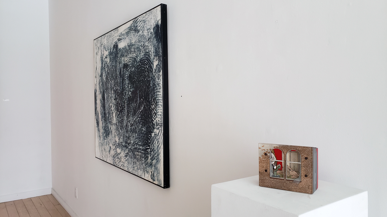 Art Exhibition, Randall Steeves, Jessica Korderas, installation, contemporary art, Elissa Cristall Gallery