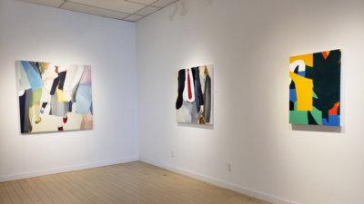 A fine line, art exhibition, contemporary art, Vancouver, Elissa Cristall Gallery