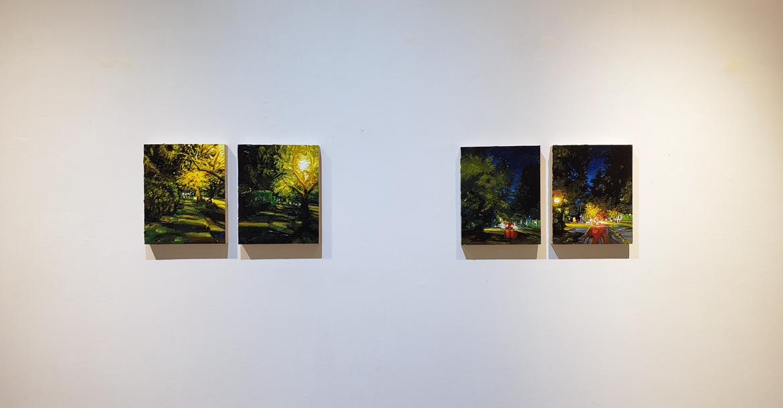 Mara Korkola, new landscapes, Elissa Cristall Gallery, Vancouver