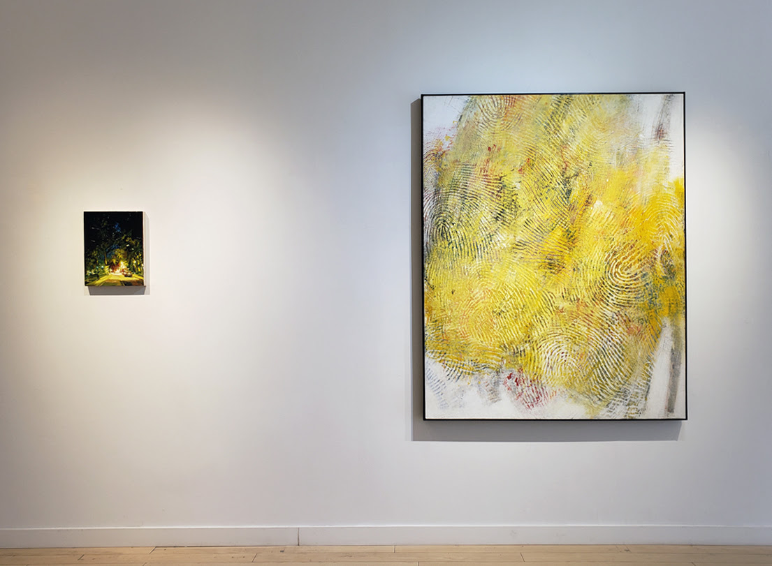 Transition, painting exhibition, Elissa Cristall Gallery