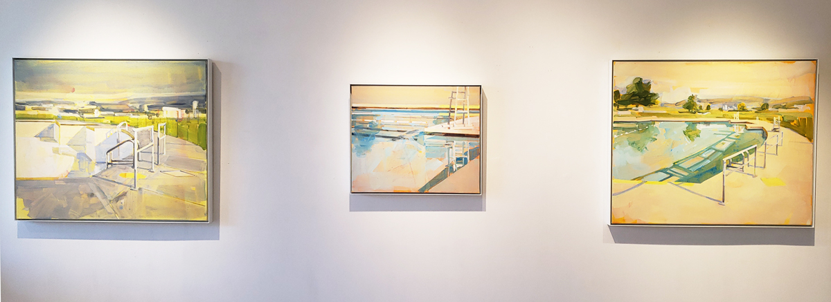 Material Elements exhibition, Elissa Cristall Gallery