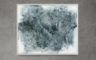 Randall Steeves, Distances, encaustic on canvas
